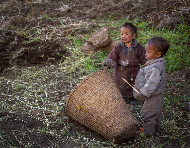 Young Boys in Field