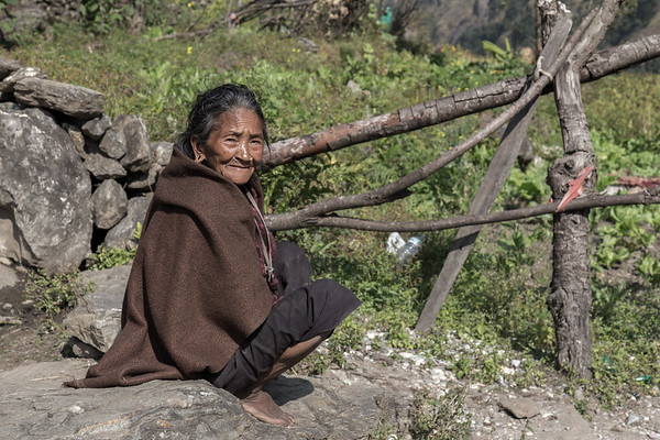 Simple Woman on Trail