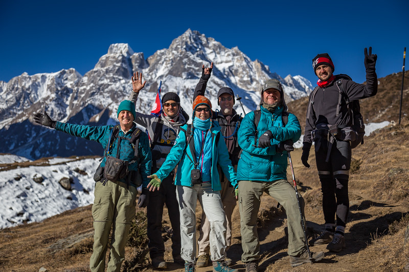 Trekkers and Guide