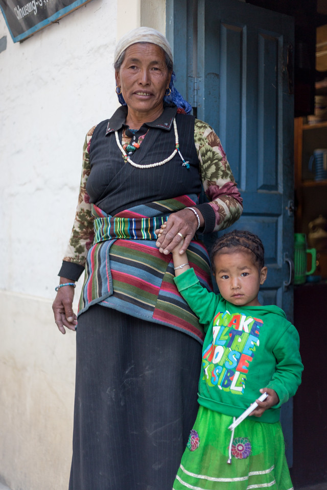 Grandmother with Child