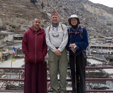 Head Monk at Monastery