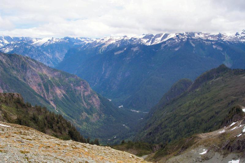Valley below Mount Shuksan