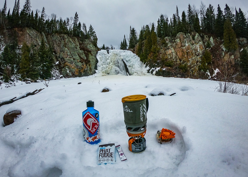 Sucks there is no open water. But I will take this time to enjoy a cup of unicorn fuel (Phat Fudge in coffee).