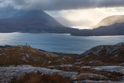 Photographing Loch Damh