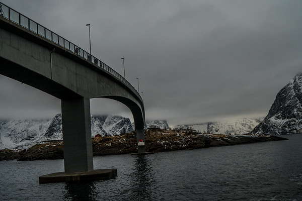 Yup, up on that bridge.