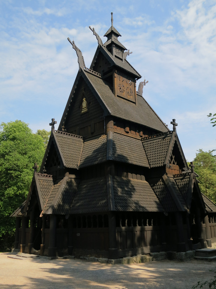 "The term ""stave church"" refers to the staves, or posts, that provide the structural support."