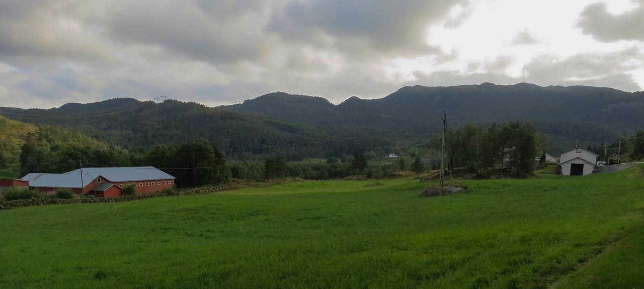 Frøland farm, birthplace of Trobjørn Trondson