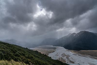 Storm over Arthur's Pass