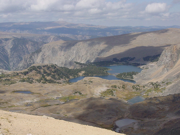 Near the top of the Beartooth Pass in Montana.