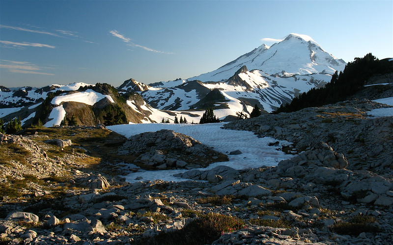 Mt Baker from Table Mtn
