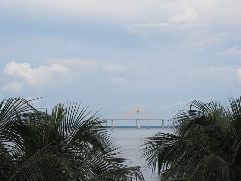The bridge in Manaus