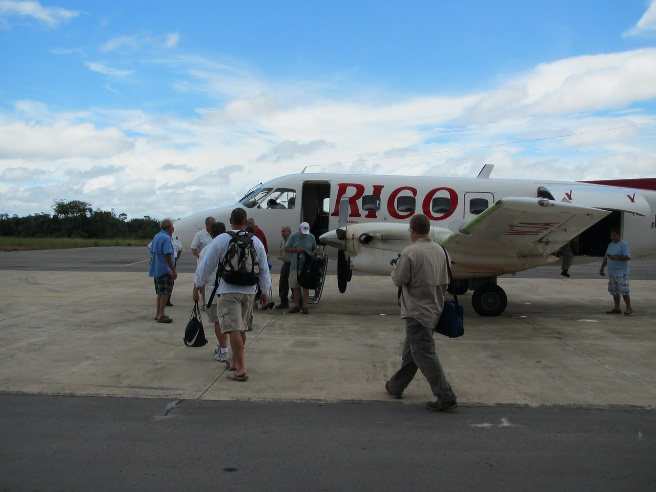Our transport back to Manaus