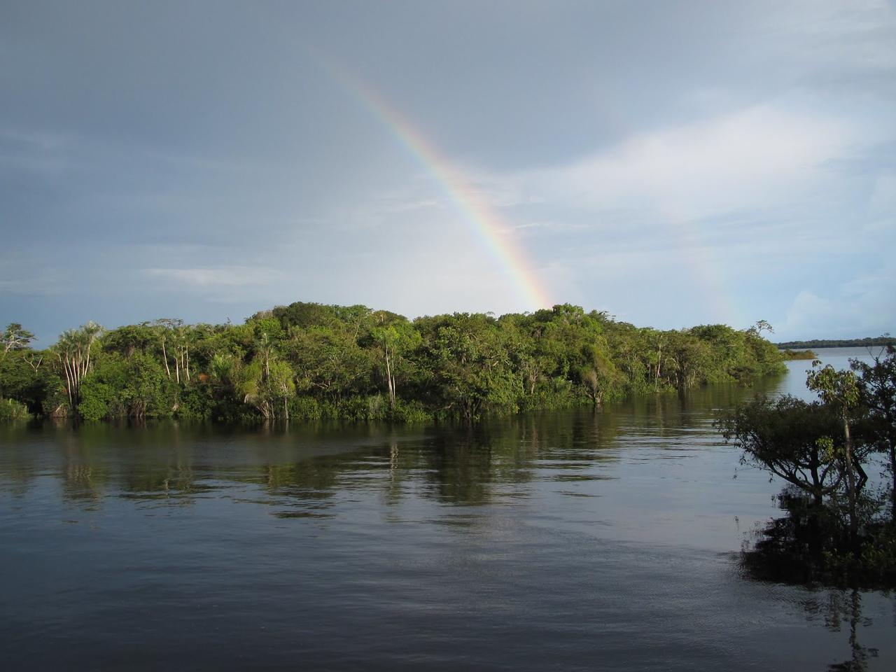 A pretty double rainbow