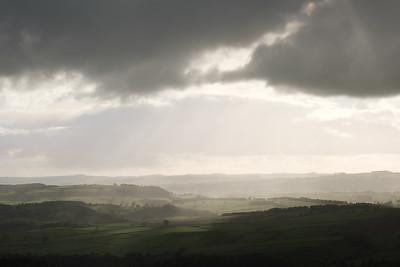 Curbar Edge Storm