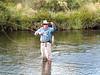 First Fish on Tenkara. (Photo: Tony Beasley)