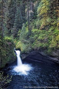 Punchbowl Falls, from above (a bit further on the trail).