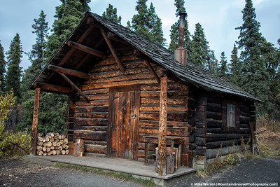 The Savage Cabin, a winter abode for rangers