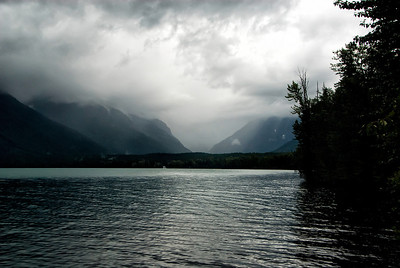 A rainy Lake MacDonald.  See later in this album
