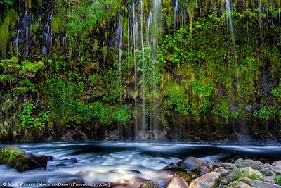 The amazing Mossbrae Falls!