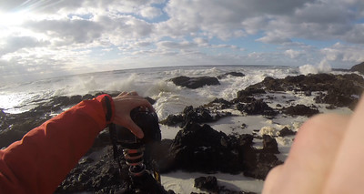 Video showing how I shot the next images at Cape Perpetua