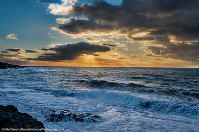 Sunset, Depoe Bay