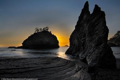 Secret Beach, Samuel Boardman state park.