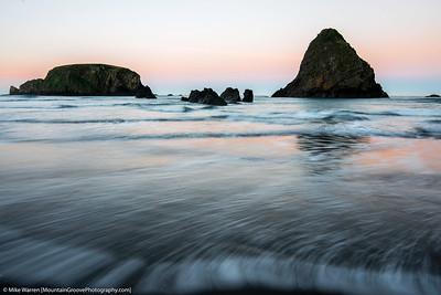 Sunrise at Whaleshead Beach, Brookings, OR