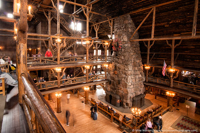 Yellowstone Lodge.  Do you seen someone famous in this image?!