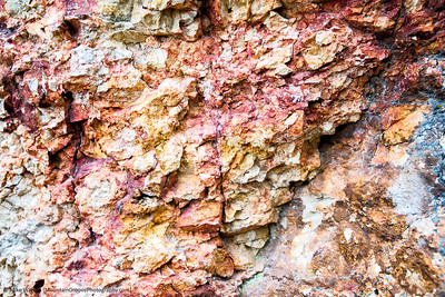Close up of rock in Grand Canyon of the Yellowstone.