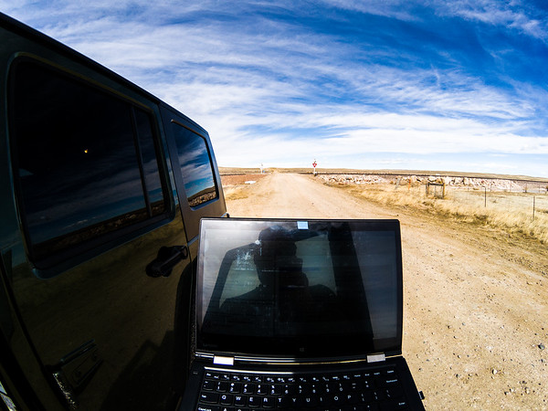 Oh yeah I am working remote. Got to say the middle of South Dakota is pretty remote...