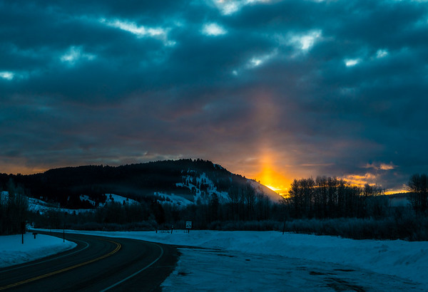 Waking up to this.... Grand Teton National Park