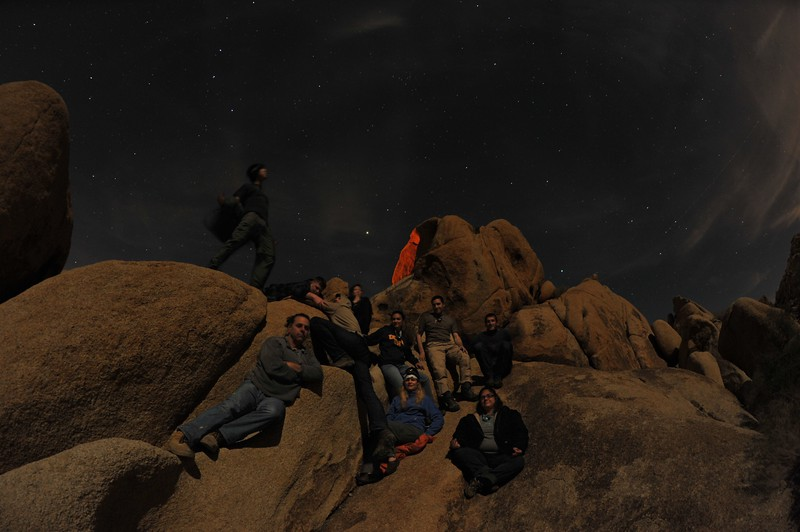 Camping in Joshua Tree National Park