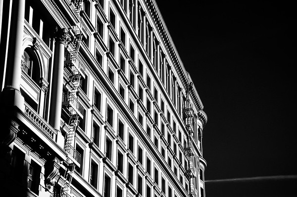 Building Patterns  A San Francisco building.