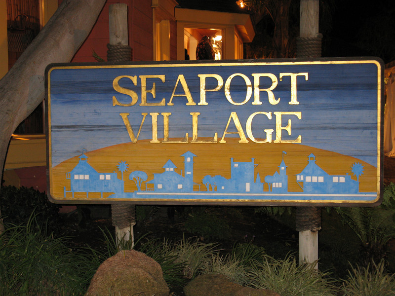 Seaport Village - Early December 2007