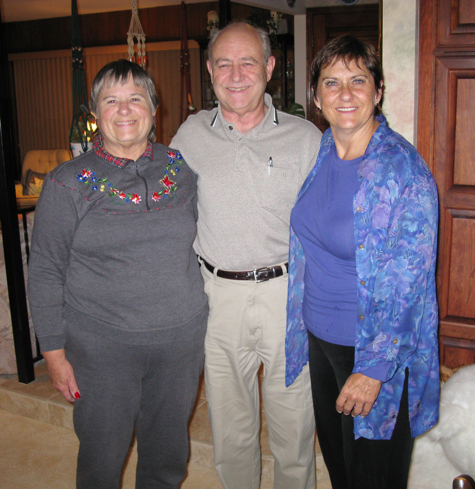 Bill, Carole, and Arlene entertained us graciously! What joy to share time with them. We treasure blessed memories of time shared in the '90's and of experiencing God with them through TEC service.