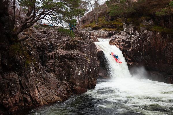 Glen Etive kayaker
