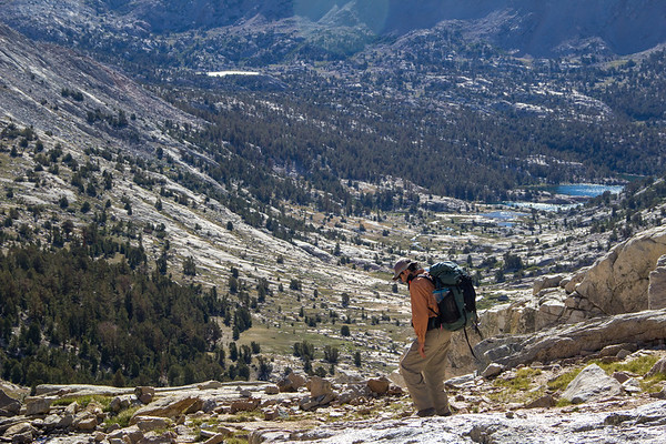 Descent to Kern Headwaters