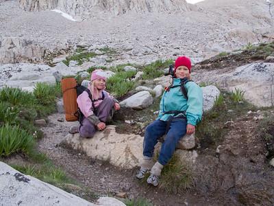 Kids Climbing Whitney