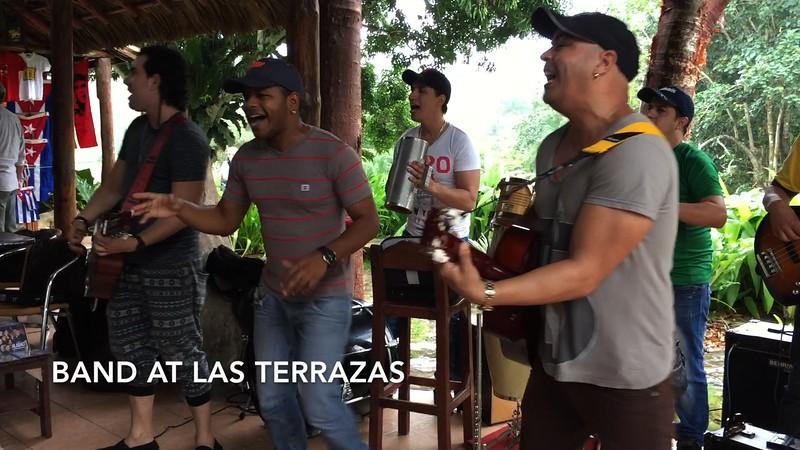 Band at Las Terrazas