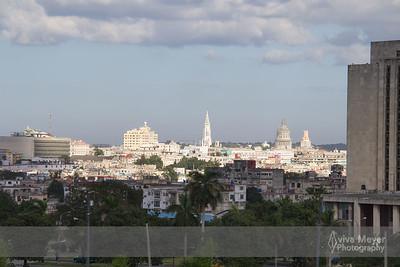 View from Plaza de la Revolución