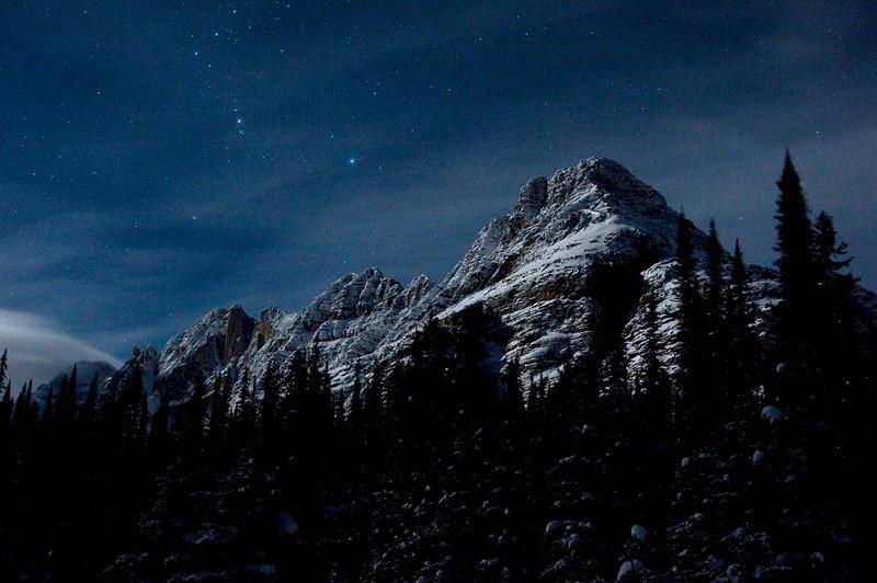 Moonlit Mount Schaffer