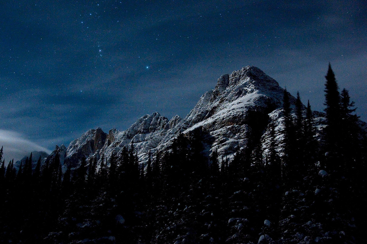 Moonlit Mount Schaffer