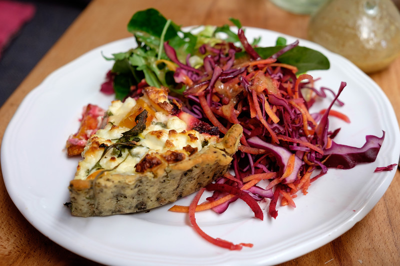 Quiche for lunch