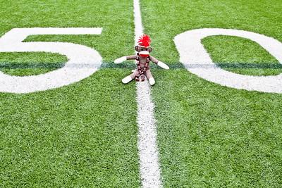 At the 50 yard line! Go Bucks!