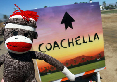 """Coachella 2012 with Aunt Crystal. """"Anthony & Monica, Don't be jealous."""""""