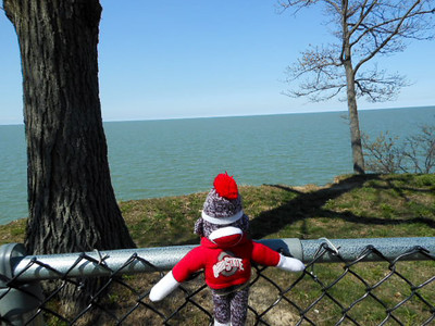 Welcome to Lake Erie in Cleveland, Ohio