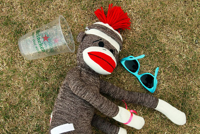Man, that was a rough night. Coachella, the morning after.