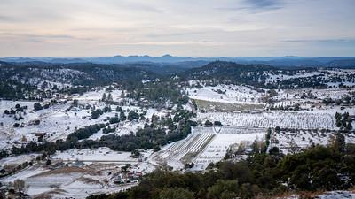 Snowy Farmlands