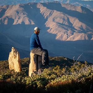 Stones near Garnet Peak