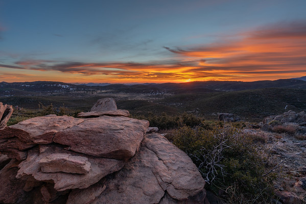 Hat Rock Sunset